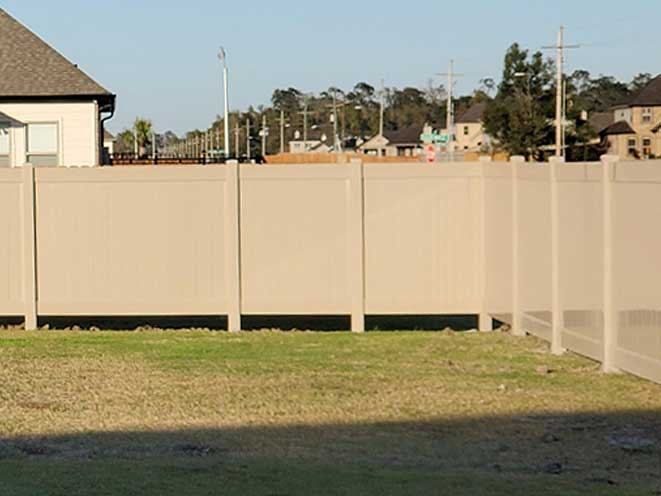 Vinyl Privacy Fence (Adobe)
